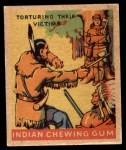 1933 Goudey Indian Gum #216   Torturing their Victims  Front Thumbnail