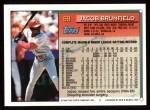 1994 Topps #69  Jacob Brumfield  Back Thumbnail