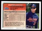 1994 Topps #287  Mike Lansing  Back Thumbnail