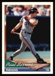 1994 Topps #358  Paul Sorrento  Front Thumbnail