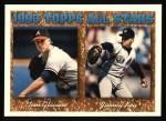 1994 Topps #393   -  Jimmy Key / Tom Glavine All-Star Front Thumbnail