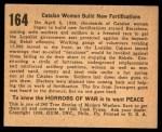 1938 Gum Inc. Horrors of War #164   Catalan Women Build New Fortifications Back Thumbnail
