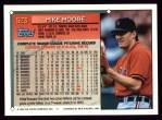 1994 Topps #523  Mike Moore  Back Thumbnail