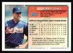 1994 Topps #539  Bobby Jones  Back Thumbnail