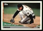 1994 Topps #571  David Segui  Front Thumbnail