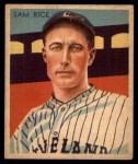 1935 Diamond Stars #32  Sam Rice   Front Thumbnail