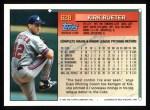 1994 Topps #628  Kirk Rueter  Back Thumbnail