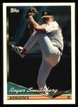 1994 Topps #652  Roger Smithberg  Front Thumbnail