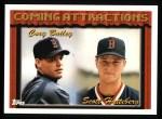 1994 Topps #764  Cory Bailey /  Scott Hatteberg  Front Thumbnail