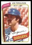 1980 Topps #51  Joe Ferguson    Front Thumbnail