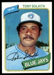 1980 Topps #407  Tony Solaita  Front Thumbnail
