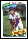 1980 Topps #189  Kevin Kobel  Front Thumbnail