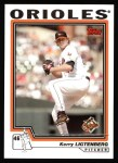 2004 Topps #71  Kerry Ligtenberg  Front Thumbnail