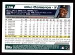 2004 Topps #156  Mike Cameron  Back Thumbnail