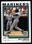 2004 Topps #156  Mike Cameron  Front Thumbnail
