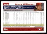 2004 Topps #158  Woody Williams  Back Thumbnail
