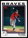 2004 Topps #313   -  Kyle Davies First Year Front Thumbnail