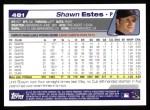 2004 Topps #481  Shawn Estes  Back Thumbnail