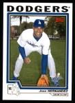 2004 Topps #599  Jose Hernandez  Front Thumbnail