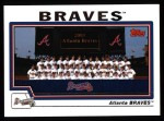 2004 Topps #640   Atlanta Braves Team Front Thumbnail
