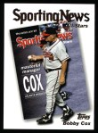 2004 Topps #728   -  Bobby Cox All-Star Front Thumbnail