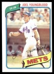 1980 Topps #372  Joel Youngblood  Front Thumbnail