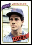 1980 Topps #541  Miguel Dilone  Front Thumbnail