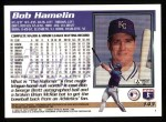 1995 Topps #143  Bob Hamelin  Back Thumbnail