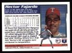 1995 Topps #184  Hector Fajardo  Back Thumbnail