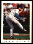 1995 Topps #210  Jeff Montgomery  Front Thumbnail