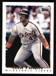 1995 Topps #220  Cecil Fielder  Front Thumbnail