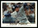 1995 Topps #325  Kevin Appier  Front Thumbnail