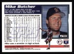 1995 Topps #368  Mike Butcher  Back Thumbnail