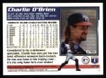 1995 Topps #379  Charles O'Brien  Back Thumbnail