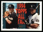 1995 Topps #384   -  Frank Thomas  /  Jeff Bagwell All-Star Front Thumbnail
