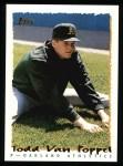 1995 Topps #407  Todd Van Poppel  Front Thumbnail