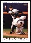 1995 Topps #414  Jeff Blauser  Front Thumbnail