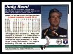1995 Topps #418  Jody Reed  Back Thumbnail