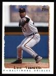 1995 Topps #425  Lee Smith  Front Thumbnail