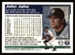 1995 Topps #505  John Jaha  Back Thumbnail