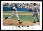 1995 Topps #545  Joey Cora  Front Thumbnail