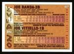 1995 Topps #637  Joe Randa / Joe Vitiello  Back Thumbnail
