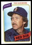 1980 Topps #81  Ted Sizemore  Front Thumbnail
