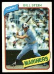 1980 Topps #226  Bill Stein  Front Thumbnail
