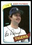 1980 Topps #59  Eddy Putman   Front Thumbnail