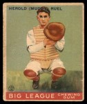 1933 Goudey #18  Muddy Ruel  Front Thumbnail