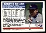 1995 Topps Traded #111 T Antonio Osuna  Back Thumbnail