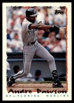 1995 Topps Traded #155 T Andre Dawson  Front Thumbnail