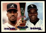 1995 Topps Traded #156 T  -  Frank Thomas / Fred McGriff All-Star Front Thumbnail