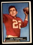 1951 Topps Magic #14  Lou D'Achille  Front Thumbnail